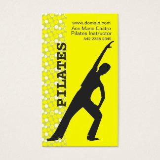 フィットネスのエクササイズのスポーツの好気性のダンサーのカスタムのヨガ 名刺