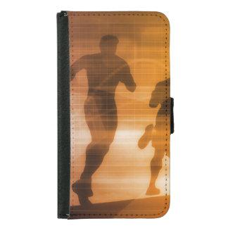 フィットネスの技術およびスポーツの監視 GALAXY S5 ウォレットケース