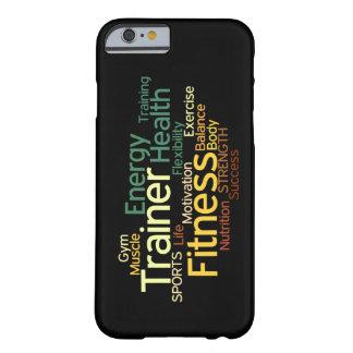 フィットネスまたはパーソナルトレーナーのiPhone 6/6sの場合 Barely There iPhone 6 ケース