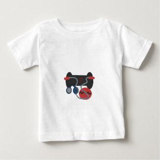 フィットネス装置 ベビーTシャツ