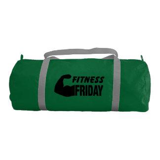 フィットネス金曜日-やる気を起こさせるな体育館のバッグ ジムバッグ