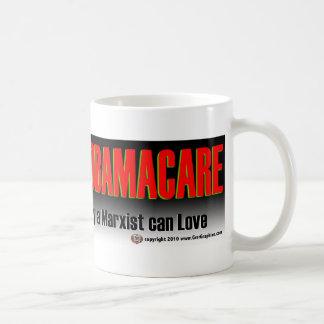 フィデル愛オバマの心配のマグ コーヒーマグカップ