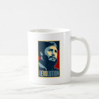 フィデル・カストロ-キューバのキューバの改革の大統領 コーヒーマグカップ