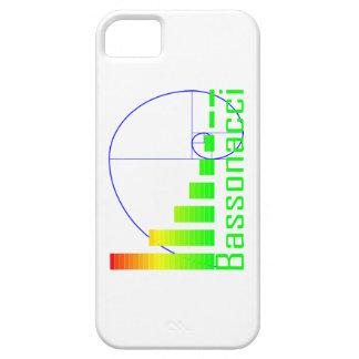 フィボナッチ数学のBassonacciのiPhone 5の場合の青 iPhone SE/5/5s ケース