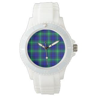 フィボナッチ最初格子縞 腕時計
