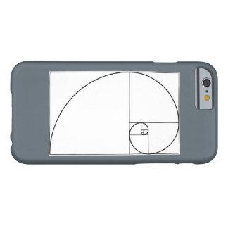 フィボナッチ螺線形の携帯電話の箱 BARELY THERE iPhone 6 ケース
