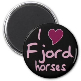 フィヨルドの馬 マグネット