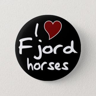 フィヨルドの馬 缶バッジ