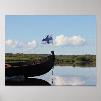 フィヨルド私の方法1 (フィンランド) ポスター
