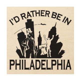 フィラデルヒィアにむしろあって下さい ウッドウォールアート