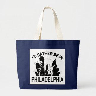 フィラデルヒィアにむしろあって下さい ラージトートバッグ