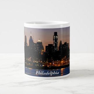 フィラデルヒィアのたそがれのジャンボマグ ジャンボコーヒーマグカップ
