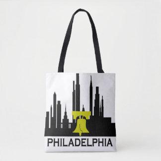 フィラデルヒィアのスカイライン トートバッグ