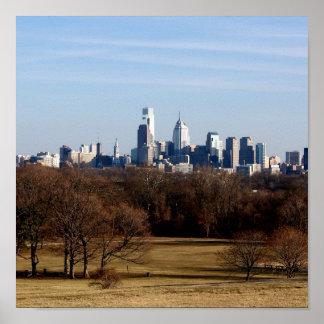 フィラデルヒィアのスカイライン ポスター