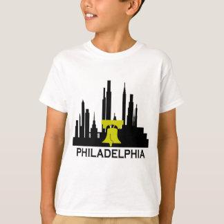 フィラデルヒィアのスカイライン Tシャツ