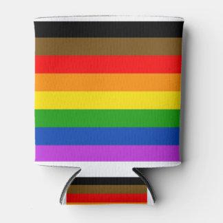 フィラデルヒィアのプライドの旗 缶クーラー