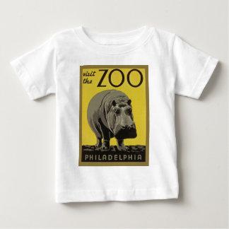 フィラデルヒィアの動物園を訪問して下さい ベビーTシャツ
