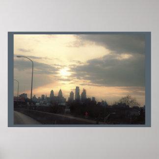 フィラデルヒィアの日没 ポスター