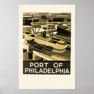 フィラデルヒィアの港 ポスター