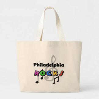 フィラデルヒィアの石 ラージトートバッグ