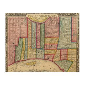 フィラデルヒィアの計画 ウッドウォールアート