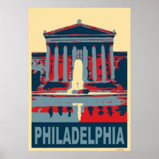 フィラデルヒィアの青 ポスター