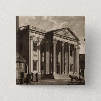 フィラデルヒィアのGerards銀行 5.1cm 正方形バッジ