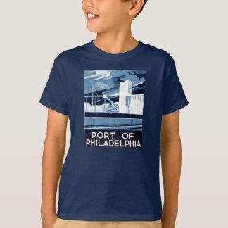 フィラデルヒィアペンシルバニアの大工のホールの港 Tシャツ