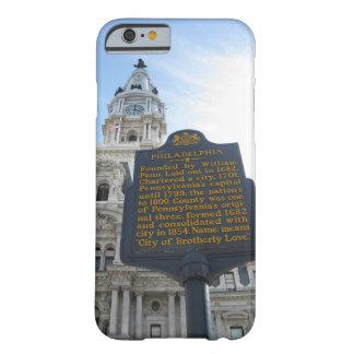 フィラデルヒィア市役所のiPhoneの場合 Barely There iPhone 6 ケース