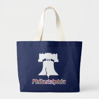 フィラデルヒィア自由の鐘 ラージトートバッグ