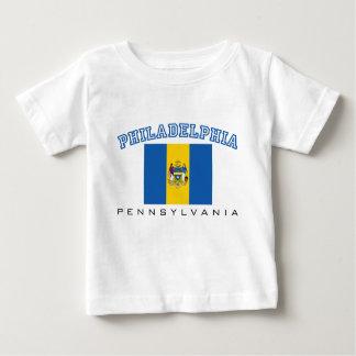 フィラデルヒィア都市旗 ベビーTシャツ