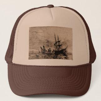 フィラデルヒィア1800年の米国の海軍艦艇 キャップ