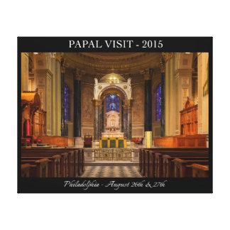フィラデルヒィア2015年への教皇の訪問 キャンバスプリント