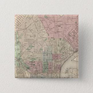 フィラデルヒィア3 5.1CM 正方形バッジ