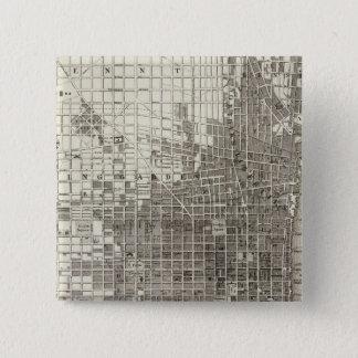 フィラデルヒィア4 5.1CM 正方形バッジ