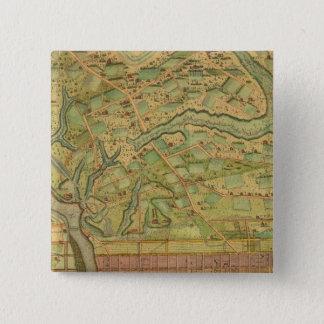 フィラデルヒィア5 5.1CM 正方形バッジ