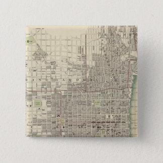 フィラデルヒィア8 5.1CM 正方形バッジ