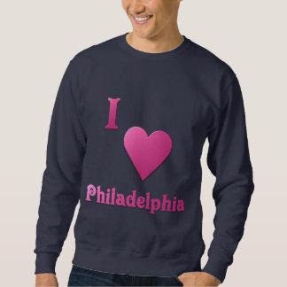 フィラデルヒィア -- ショッキングピンク スウェットシャツ