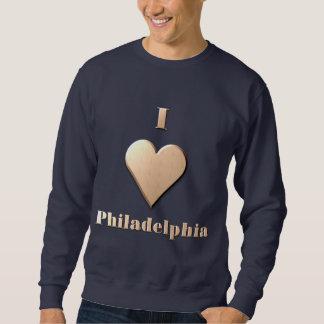 フィラデルヒィア -- タン スウェットシャツ