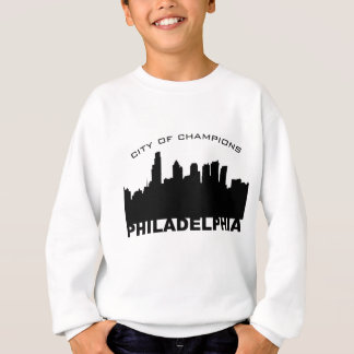 フィラデルヒィア: チャンピオンの黒の都市 スウェットシャツ
