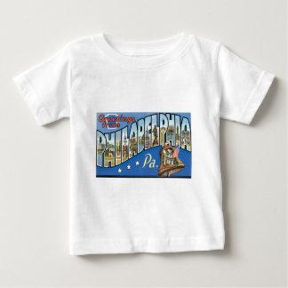フィラデルヒィア、ペンシルバニアからの挨拶! ベビーTシャツ