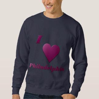 フィラデルヒィア -- ワイン スウェットシャツ