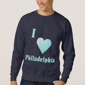 フィラデルヒィア -- 淡いブルー スウェットシャツ