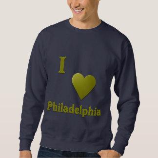 フィラデルヒィア -- 深緑 スウェットシャツ