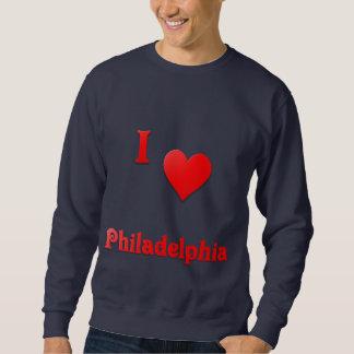 フィラデルヒィア -- 赤い スウェットシャツ
