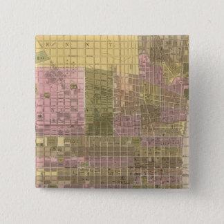 フィラデルヒィア 5.1CM 正方形バッジ