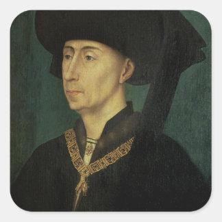 フィリップのポートレートバーガンディのよい公爵 スクエアシール