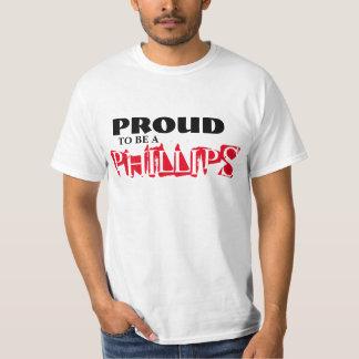 フィリップスがあること誇りを持った Tシャツ
