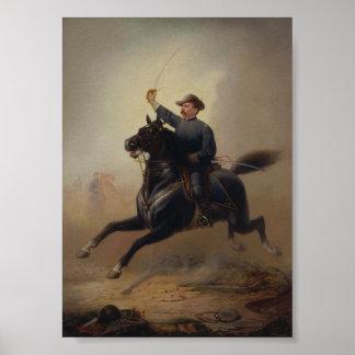 フィリップSheridan's Ride Painting大将の ポスター