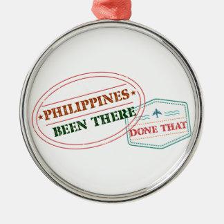 フィリピンそこにそれされる メタルオーナメント